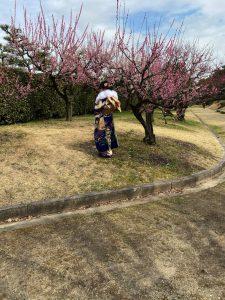 前撮り 名古屋城梅